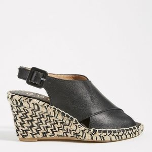 NIB Chio Wedge Espadrille Sandals Anthropologie 40